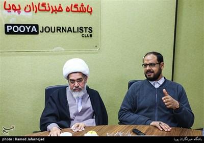 عبدالغنی خنجر سخنگوی جنبش حق بحرین و شیخ عبدالله صالح از رهبران جریان عمل اسلامی بحرین