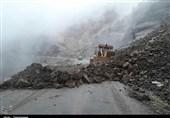تردد کامیون در محور خرمآباد ـ پلدختر همچنان ممنوع است