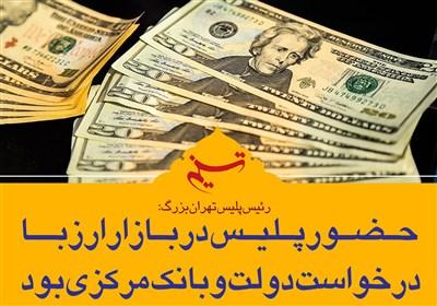 قیمت ارز در سال 97 بین 4هزار تا4100 تومان است