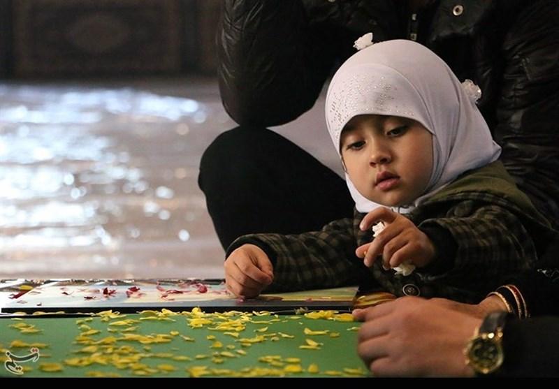 گلباران پیکر مطهر 4 شهید فاطمیون/ بازگشت سومین شهید خانواده افغانستانی+تصاویر