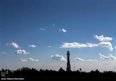 آسمان آبی پایتخت