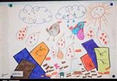 سنندج| نمایشگاه نقاشی به نفع کودکان زلزلهزده به روایت تصویر
