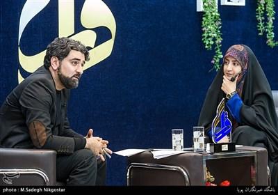 شعرخوانی سید محمدجواد شرافت در چهاردهمین محفل شعر «قرار»+فیلم