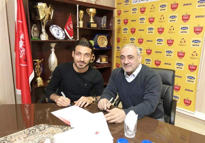 Shoja Khalilzadeh Signs Persepolis Contract Extension