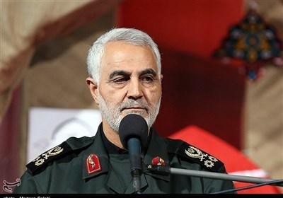 """تکرار سردار سلیمانی: قصاص خون شهید """"عماد مغنیه"""" شلیک یک موشک نیست برچیدن رژیم صهیونیستی است"""