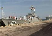 ناوگروه نیروی دریایی ارتش در سریلانکا پهلو گرفت