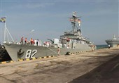 Iranian Flotilla Docks at Sri Lanka Port