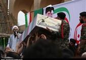 یزد | پیکر شهدای گمنام در نقاط مختلف استان یزد به خاک سپرده شد
