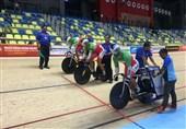 دوچرخهسواری پیست قهرمانی آسیا  ناکامی رکابزن ایران در تیماسپرینت
