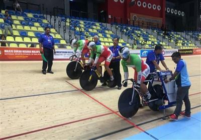 مدال نقره ایران در مدیسون دوچرخه سواری قهرمانی آسیا