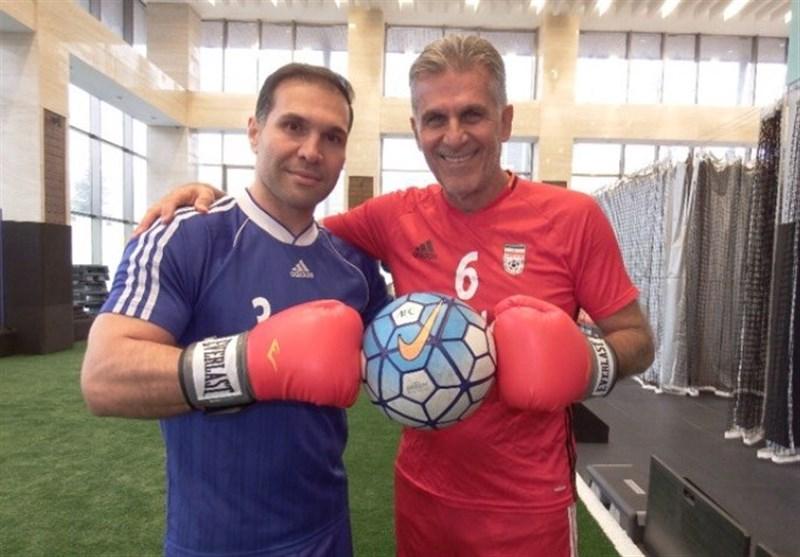 دلایل حضور حسین اوجاقی در کادرفنی تیم ملی فوتبال از زبان رئیس فدراسیون ووشو