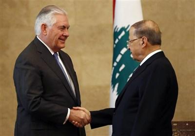 امریکی وزیر خارجہ کی وزارت خارجہ لبنان کے دفتر میں دگرگون حالت