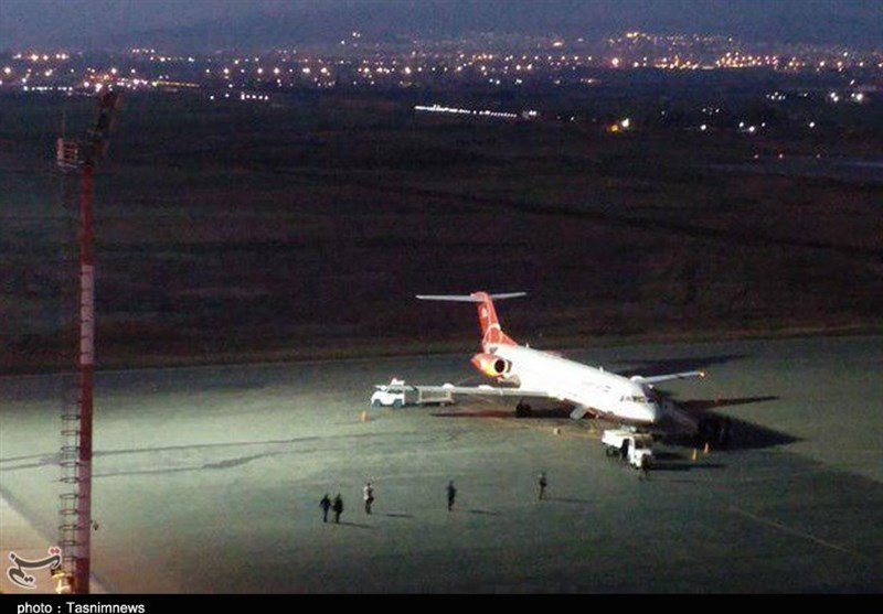 مشهد| سانحه هواپیمای مسافربری در فرودگاه مشهد+تصاویر