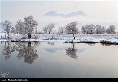 طبیعت زمستانی ارومیه