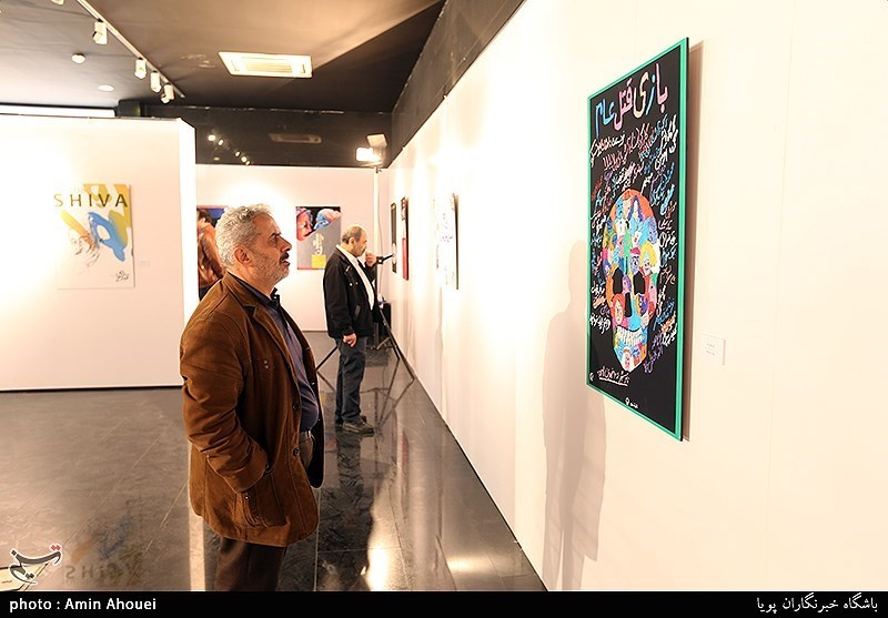 نمایشگاه آثار طراحان گرافیست ایران و جهان در سنندج دایر شد