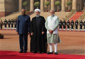 Iran's President Begins Formal Visit to New Delhi