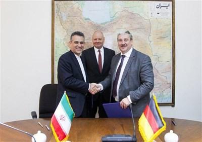 دیدار سفیر آلمان با رئیس مرکز نظام ایمنی هسته ای و امضای تفاهمنامه همکاری