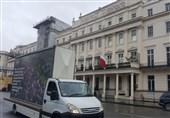 افشای سرکوبگری آل خلیفه در لندن به روشی جدید + تصاویر