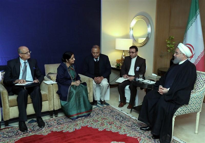 Ruhani: İran Ve Hindistan'ın İşbirliği, Bölge İstikrarına Katkı Sağlıyor