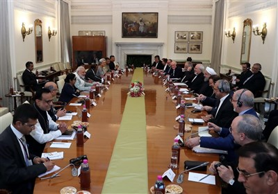 ایران والهند تبرمان 15 وثیقة للتعاون الثنائی
