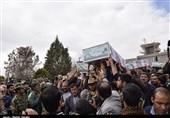 کرمان  پیکر مطهر 17 شهید گمنام در استان کرمان تدفین شد