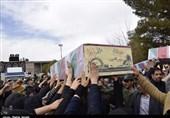 خوزستان| پیکر پاک 2 شهید گمنام در شهر چغامیش خوزستان تشییع میشود