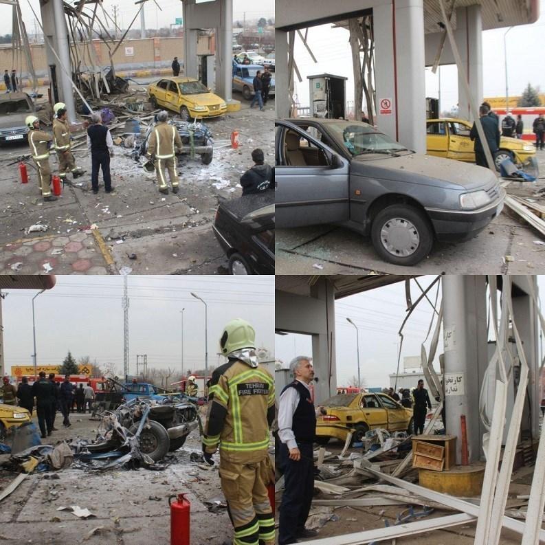 حوادث وحشتناک حوادث واقعی حوادث تهران انفجار کپسول گاز انفجار در تهران انفجار پمپ گاز اخبار تهران