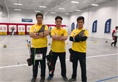 Iran Recurve Junior Men's Team Secure Gold