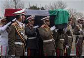 زاهدان| انتقال پیکر دو شهید حادثه تروریستی میرجاوه به مشهد