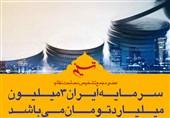 فتوتیتر| سرمایه ایران اعلام شد؛ 3 میلیون میلیارد تومان