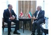 دیدار وزرای خارجه ایران و گرجستان در حاشیه اجلاس مونیخ
