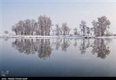 ایران کے شہر ارومیہ میں موسم سرما