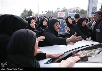 تشییع میلاد آروی از شهدای سانچی - اصفهان