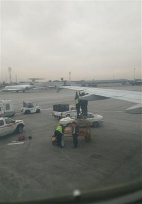 تعمیر غیرمعمول هواپیمای زاگرس +فیلم