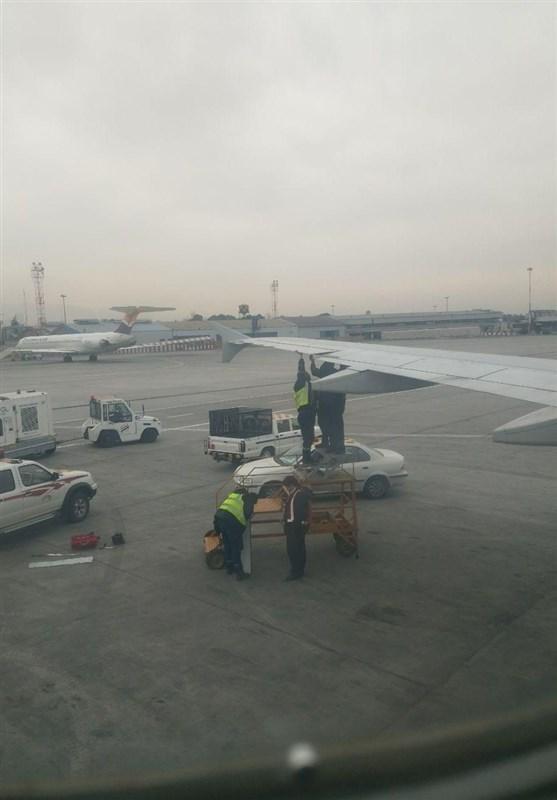 بازگشت هواپیمای زاگرس به فرودگاه مهرآباد به دلیل دود کابین
