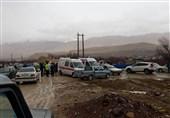 شیراز|آمادهباش 5 تیم عملیاتی فارس؛ یک تیم 5 نفره به منطقه سقوط هواپیما اعزام شد
