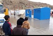وعده دولت به زلزله زدگان کرمانشاه چه شد؟ / آبگرفتگی چادرها و بی خیالی دولتی ها