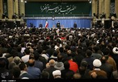 دیدار هزاران نفر از قشرهای مختلف مردم آذربایجان شرقی با رهبرمعظم انقلاب اسلامی