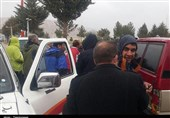 یاسوج  تیم کوهنوردی به محل سقوط هواپیمای تهران-یاسوج اعزام شد+فیلم