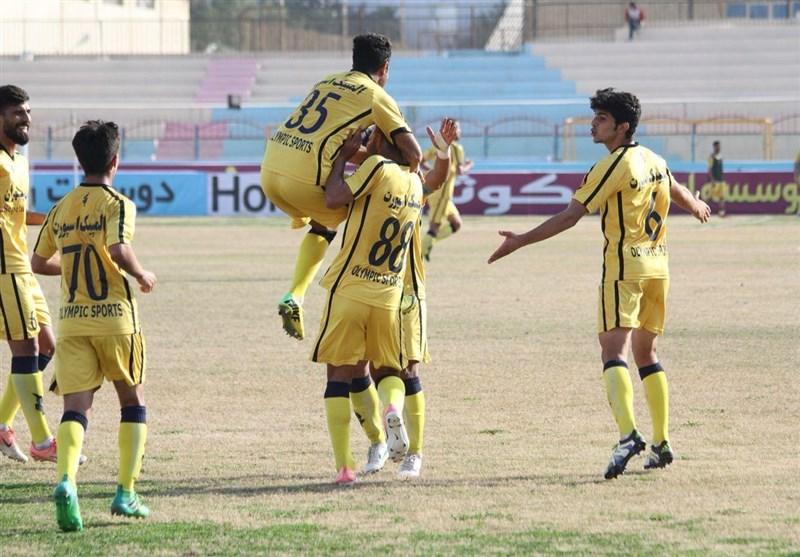 لیگ دسته اول فوتبال| اولین پیروزی فجر سپاسی با ثبت نخستین شکست شاهین/ فرار شاگردان میثاقیان از شکست مقابل ملوان