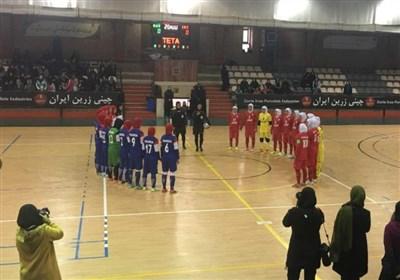 تیم های ملی فوتسال بانوان چین و اوکراین در راه تهران