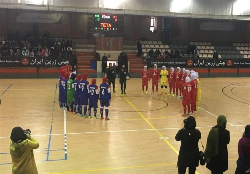 One Win, One Loss for Iran's Women's Futsal Team against Russia