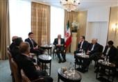 دیدار بارزانی و ظریف در کنفرانس امنیتی مونیخ