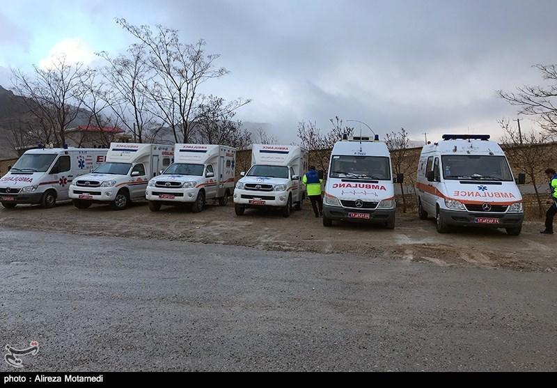 اصفهان| شرایط دشوار عملیات جستجو در برف و باران/فردا بالگردها به پرواز در میآیند