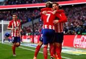 لالیگا| اتلتیکومادرید با پیروزی به تعقیب بارسلونا ادامه داد
