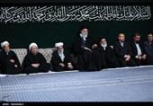 اللیلة الثانیة من مجلس عزاء بمناسبة ذکرى استشهاد السیدة فاطمة الزهراء (س) بحضور قائد الثورة + صور