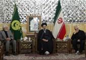 مشهد| رئیسی: جبهه بینالمللی مقاومت در اقصی نقاط جهان اسلام تشکیل شده است