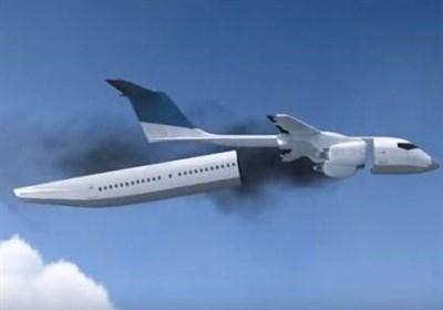 """ایدهای برای نجات جان مسافران در زمان سقوط """"هواپیما"""" + ویدئو"""
