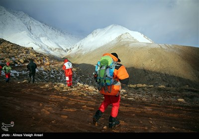 دومین روز جستجوی محل سقوط هواپیمای ATR 72 - ارتفاعات دنا