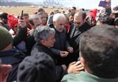 اصفهان| مهرعلیزاده: انتقال پیکرها امشب به هیچ وجه ممکن نیست